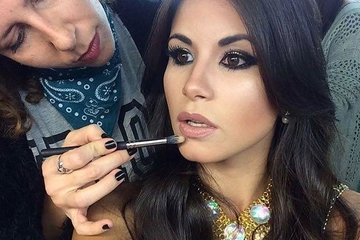 Barbara Tavosnanska nos da sus mejores consejos para ser maquillador profesional